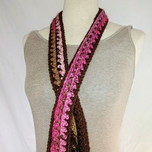 HANDMADE Skinny Knit Scarf #hundredsofscarves